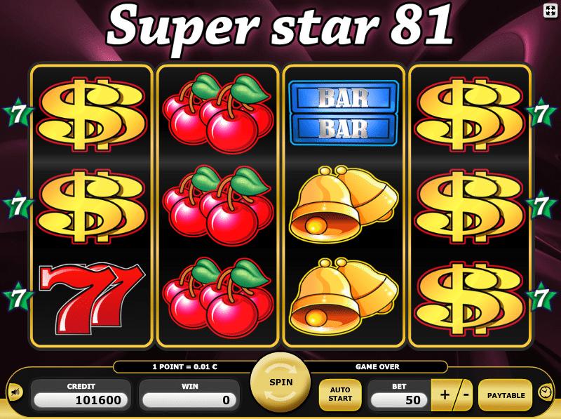 Jocuri Pacanele Super Star 81 Online Gratis