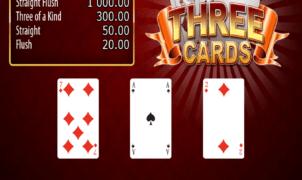 Joaca gratis pacanele Three Cards online