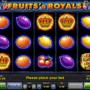 Jocuri Pacanele Fruits and Royals Online Gratis