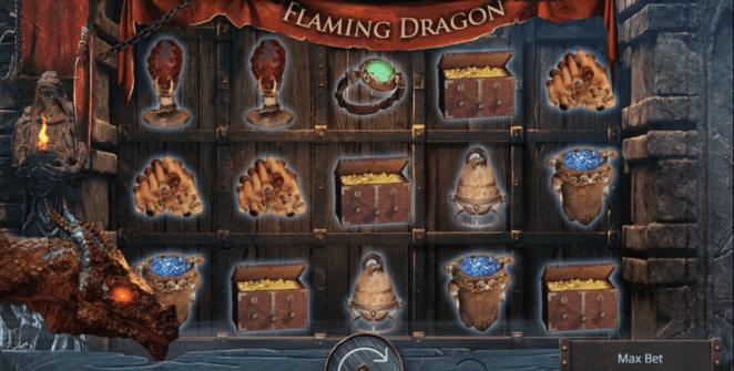 Joaca gratis pacanele Flaming Dragon online