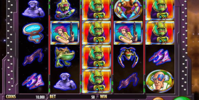 Jocul de cazino online Galactic Cash Attack gratuit