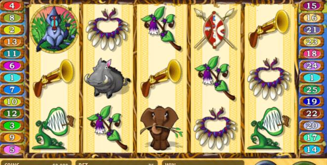 Jocuri Pacanele Jungle Rumble Online Gratis