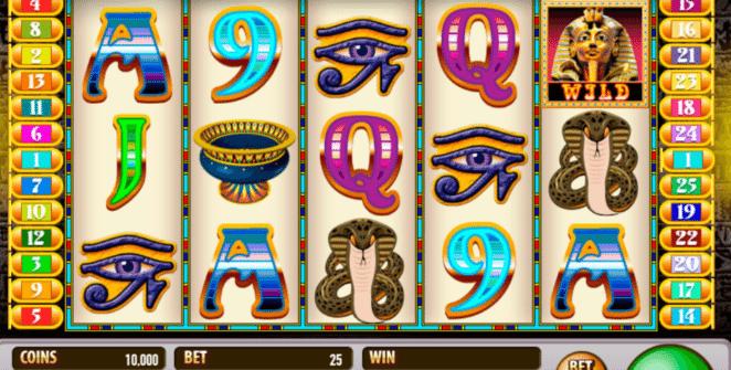 Jocul de cazino online King Tut´s Tomb gratuit