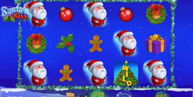 Santas Kiss gratis joc ca la aparate online