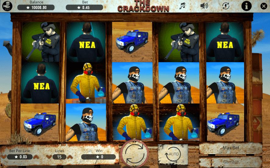 The Crackdown gratis joc ca la aparate online