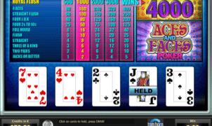 Aces and Faces Tom Horn gratis joc ca la aparate online