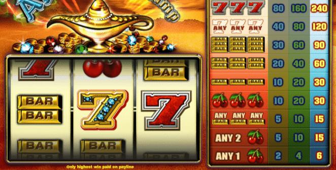 Jocul de cazino online Aladdins Lamp TH gratuit