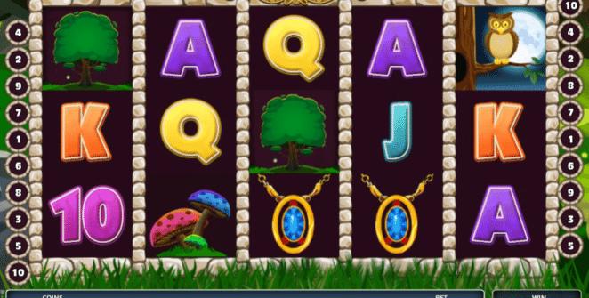 Joaca gratis pacanele Lady of the Forest online