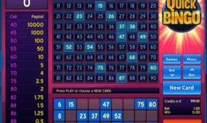 Jocul de cazino online Quick Bingo gratuit