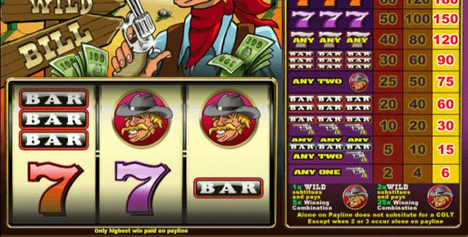 Jocuri Pacanele Wild Wild Bill Online Gratis