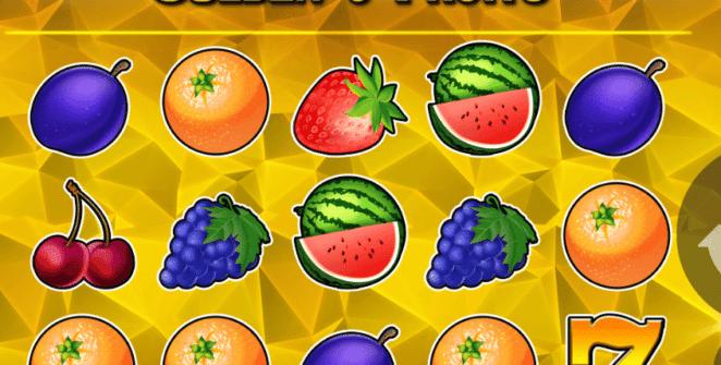 Joaca gratis pacanele Golden 7 Fruits online