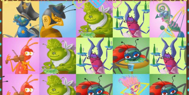 Jocul de cazino online Insects 18+ gratuit