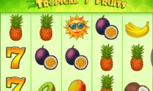 Joaca gratis pacanele Tropical 7 Fruits online