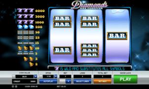 Joaca gratis pacanele Diamonds are Forever online