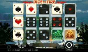 Joaca gratis pacanele Dice and Fire online