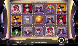 Joaca gratis pacanele Graveyard Shift online