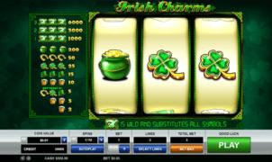 Joaca gratis pacanele Irish Charms online