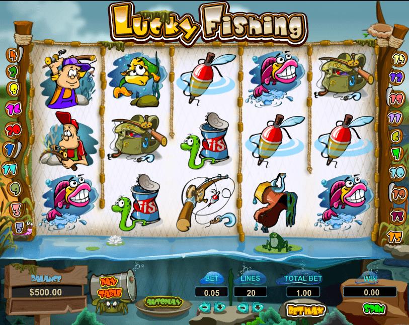 Jocul de cazino online Lucky Fishing gratuit