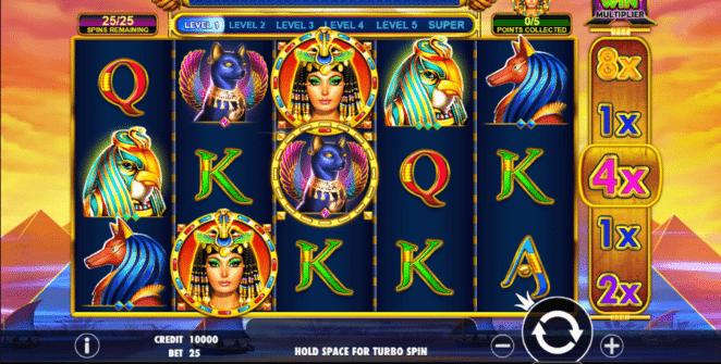 Joaca gratis pacanele Queen of Gold online