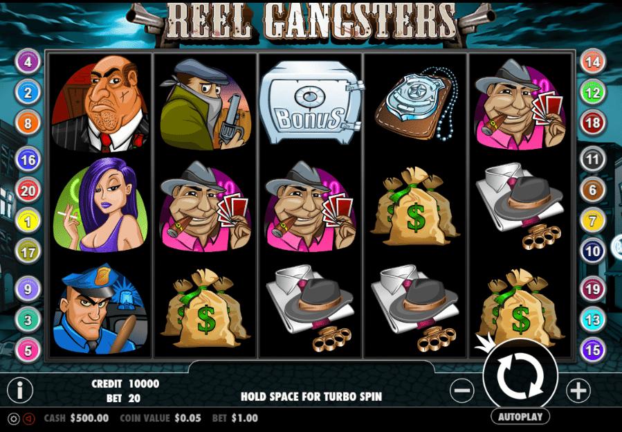 Joaca gratis pacanele Reel Gangsters online
