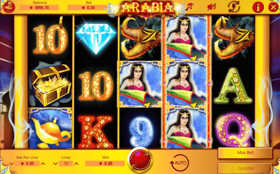 Joaca gratis pacanele Arabia online