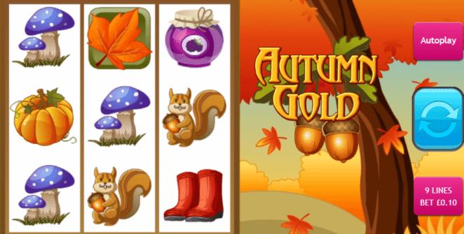 Autumn Gold gratis joc ca la aparate online