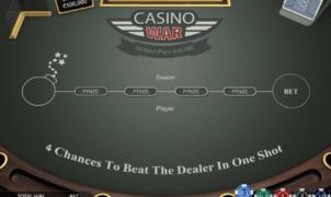 Joaca gratis pacanele Casino War online