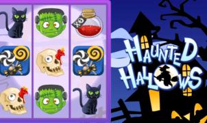 Joaca gratis pacanele Haunted Hallows online