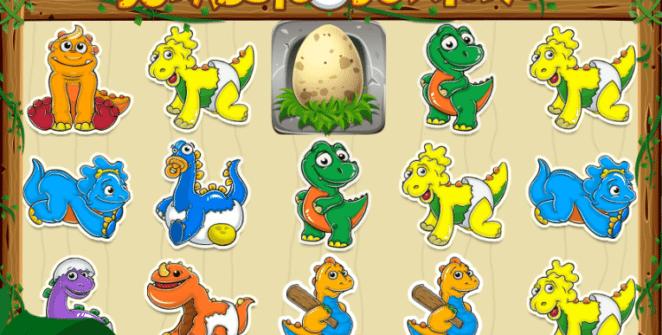 Joaca gratis pacanele Jurassic Juniors online