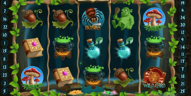 Jocuri Pacanele Magical Forest Online Gratis
