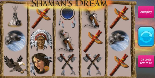 Shamans Dream gratis joc ca la aparate online
