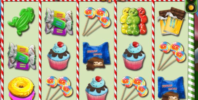Joaca gratis pacanele Sugar Train online