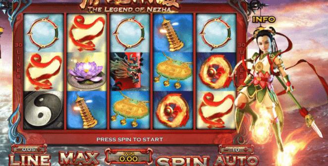 Joaca gratis pacanele The Legend Of Nezha online