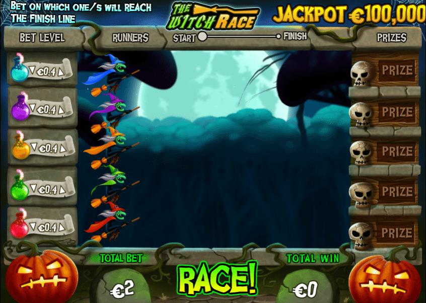 Jocuri Pacanele The Witch Race Online Gratis
