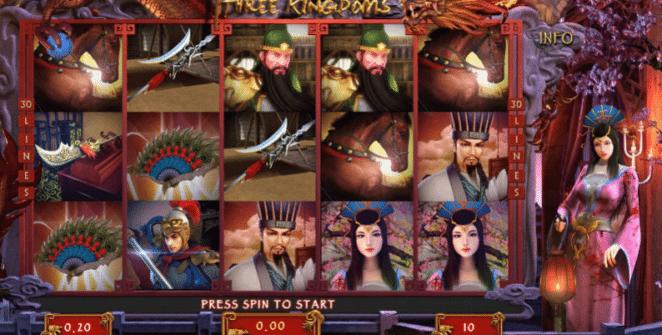 Jocuri Pacanele Three Kingdoms Online Gratis