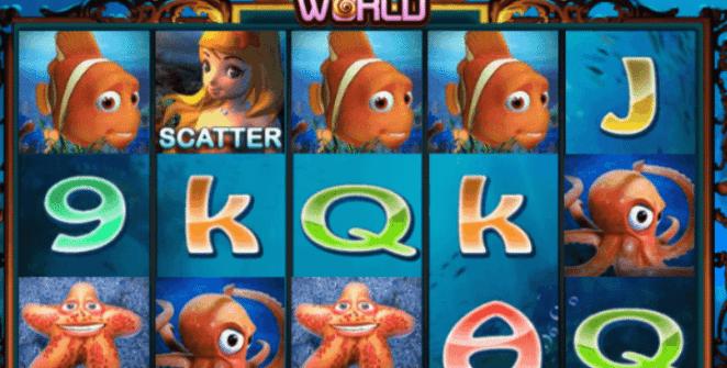 Joaca gratis pacanele Underwater World online
