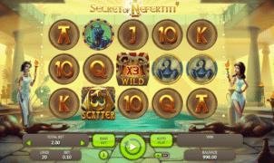 Jocuri Pacanele Secret of Nefertiti Online Gratis
