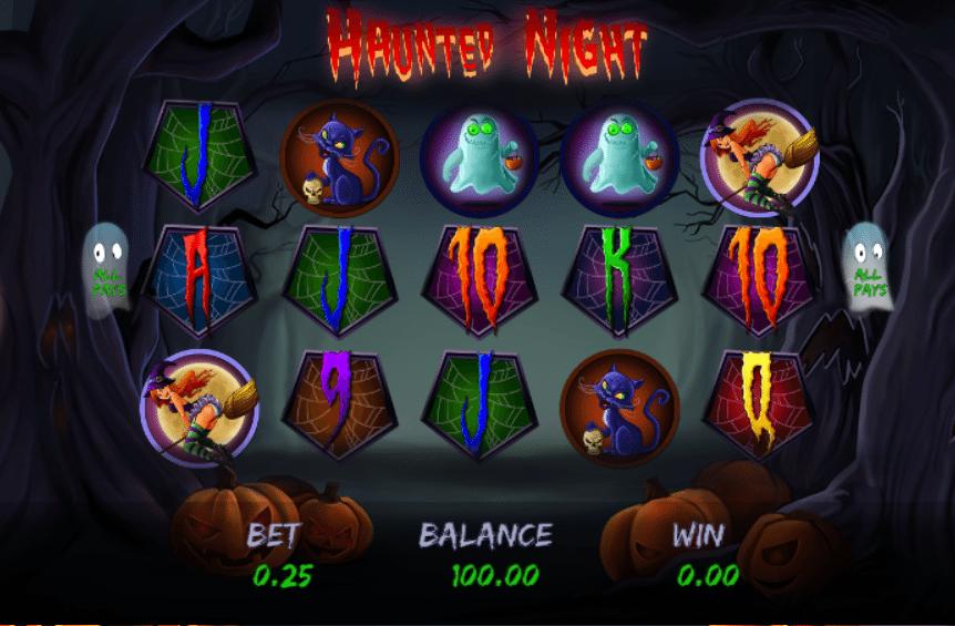 Haunted Nightgratis joc ca la aparate online