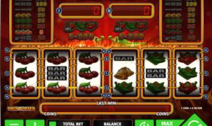 Joaca gratis pacanele Sizzling Peppers online