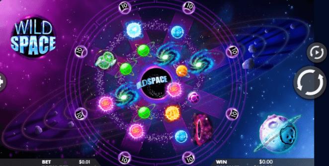 Joaca gratis pacanele Wild Space online