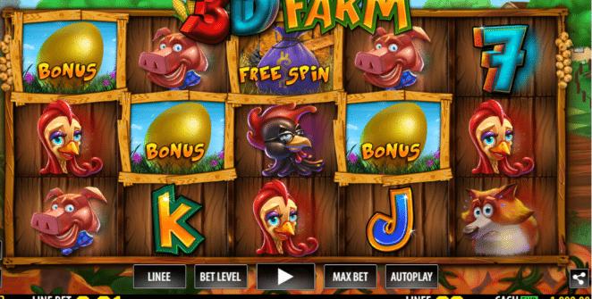 Jocuri Pacanele 3D Farm Online Gratis
