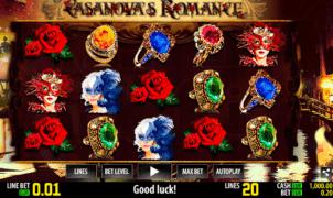 Jocul de cazino online Casanovas Romance gratuit