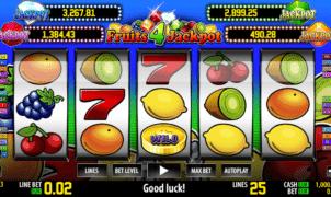 Jocul de cazino online Fruits 4 Jackpot gratuit
