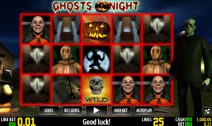 Joaca gratis pacanele Ghosts Night online