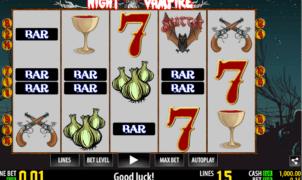 Joaca gratis pacanele Night Vampire online