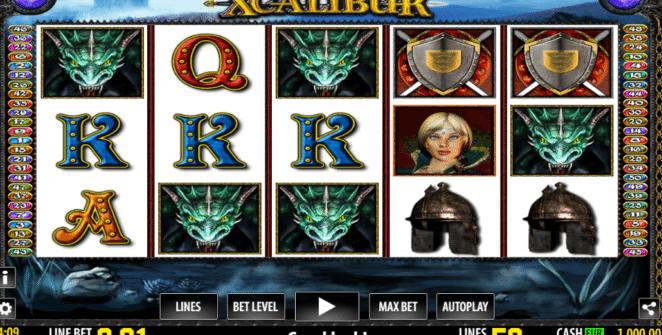 Xcalibur gratis joc ca la aparate online