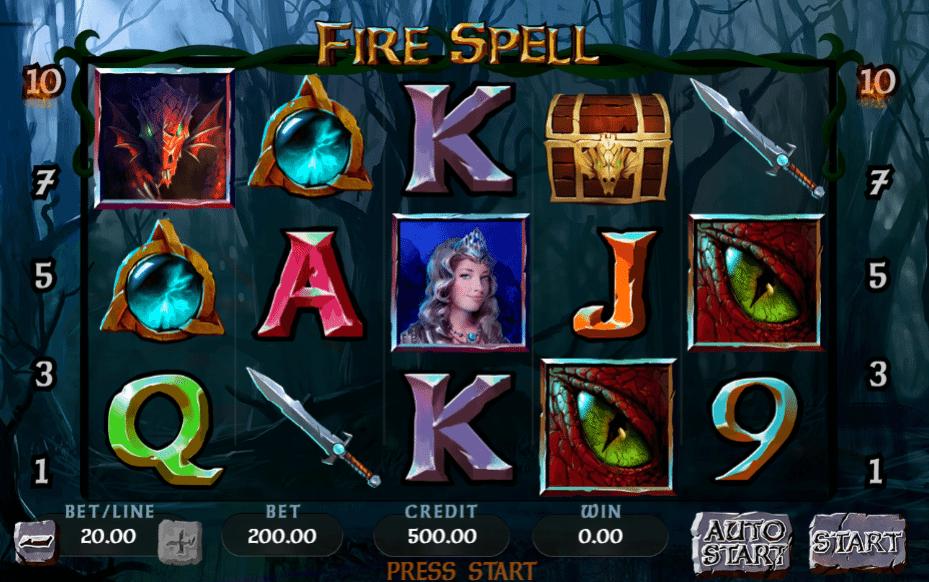Joaca gratis pacanele Fire Spell online