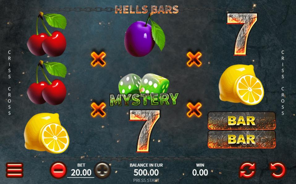 Joaca gratis pacanele Hells Bars online