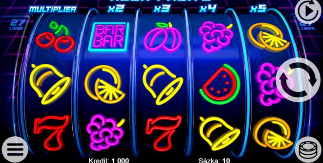 Jocul de cazino online Neon Fruits gratuit