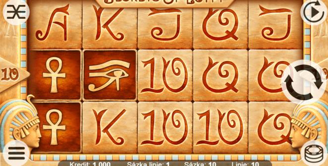 Secrets of Egyptgratis joc ca la aparate online